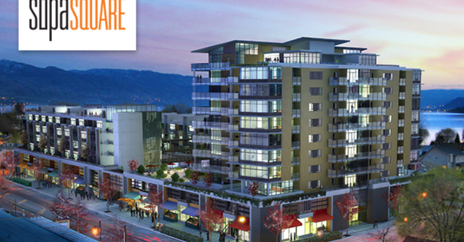 NEW PROJECT! SOPA Square in Kelowna's South Pandosy Neighbourhood image