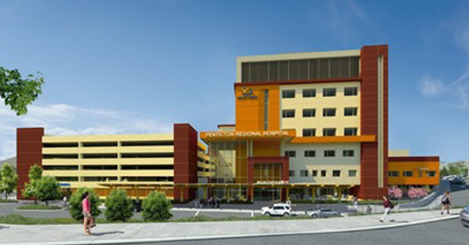 Penticton Regional Hospital Care Tower image
