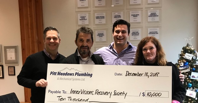 PMP DONATES $10,000 TO LOCAL RECOVERY CENTRE image